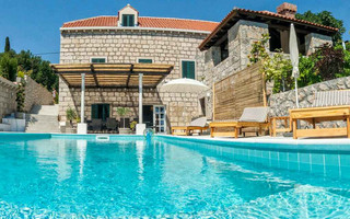 Amazing Stone Villa with Pool in Dubrovnik Region