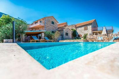 Sea View Holiday Villa with Pool in Island Hvar