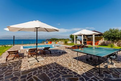 Lovely Beachfront Holiday House in Supetar Island Brac