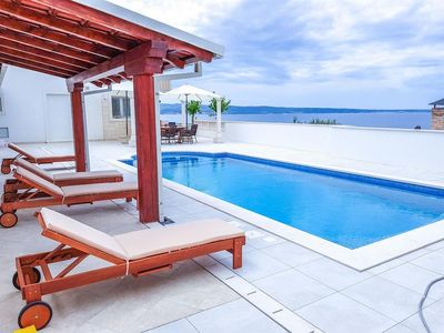 Amazing Seafront Villa with Pool in Split Region