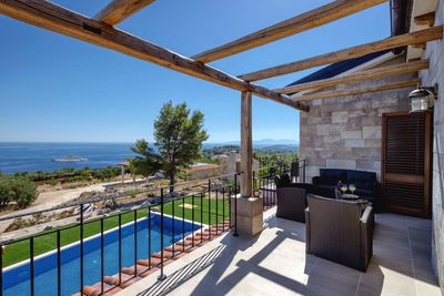 Luxury Sea View Villa Hvar with Pool and Large Yard