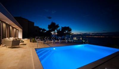 Amazing Seafront Villa with Pool in Sutivan Island Brac
