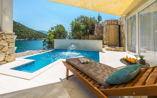 Beautiful Holiday House with Private Pool and Beach in Dubrovnik Region