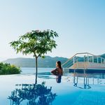 Luxury Sea View Villas with 2 Roof Pools in Korcula island