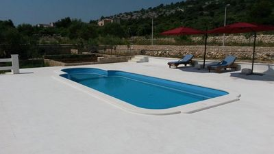 Holiday Home with Pool and Large Terrace near Rogoznica