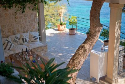 Exclusive Luxury Villa with Private Beach near Town Hvar