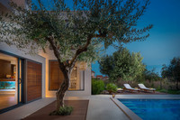 Luxury Villa with Large Pool, Sauna, Jacuzzi, and Fitness near Split and Trogir