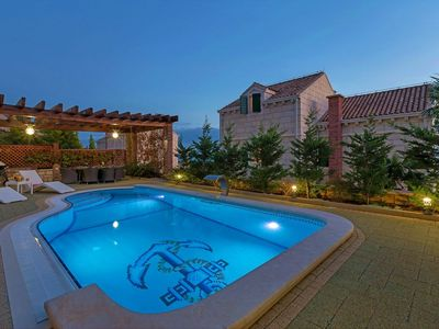 Luxuriously Equipped Villa with Private Heated Pool Makarska