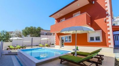 Stylish Seaside Villa with Pool Sauna and Fitness in Ciovo near Trogir