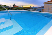 Holiday House with Pool and Sea View in Okrug Ciovo