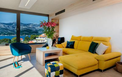 Luxury Sea View Villa with Pool Sauna Jacuzzi and Fitness near the Beach island Korcula