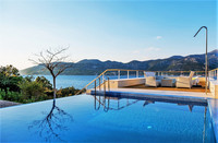 Luxury Sea View Villa with Heated Pool Sauna Hot Tub and Fitness near the Beach island Korcula