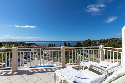 Magnificent Sea View Villa with Pool in Island Brac