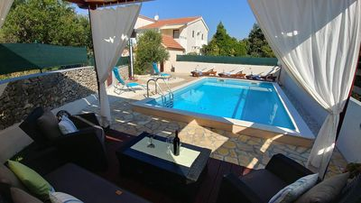Holiday House with Pool for 10 Guests in Razanj; Rogoznica Riviera