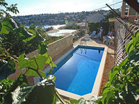 Croatian Villa  with Pool  And Private Boat Mooring  in Mavarstica, Near Trogir