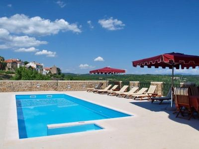 Luxury countryside villa with pool Oprtalj 28