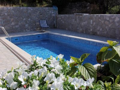 Croatia villa with pool Splitska 15