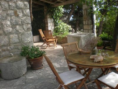 Charming villa with pool Nemira 20
