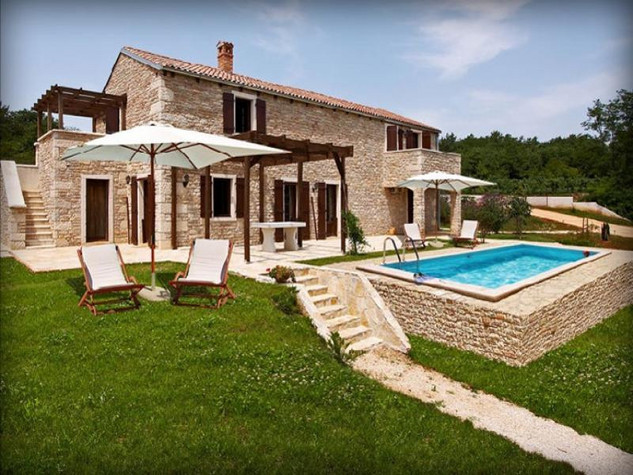 Croatian countryside villa Istria