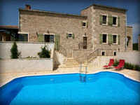 Countryside Istrian villa with pool