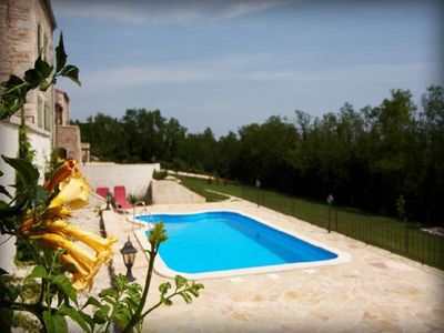 Countryside Istrian villa with pool 20