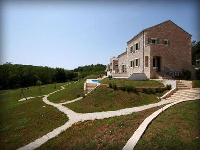 Countryside Istrian villa with pool 21