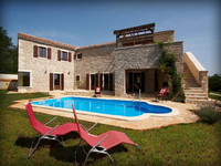 Charming countryside villa with pool in Istria