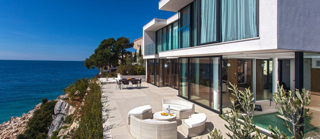 Exclusive sea front villa, Primosten