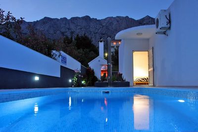 Stylish luxury villa in Makarska