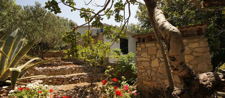 Beach holiday house on Vis