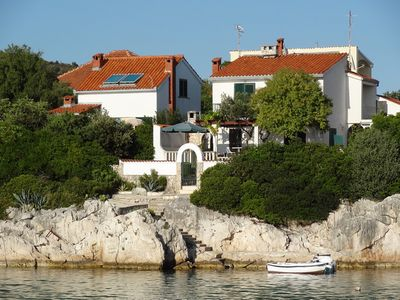 Villa with private beach in Kanica on Rogoznica Riviera