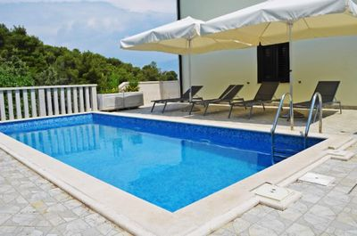 Croatia villa with pool Splitska